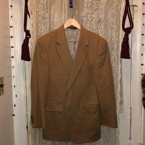 JOS.A.BANK-TAN CAMEL COLOR WOOL MAN'S DRESS JKT